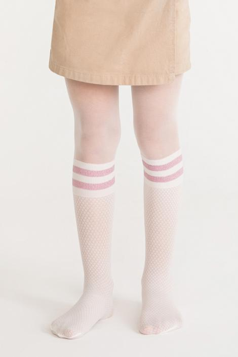 Pretty Shine Stripe Tights