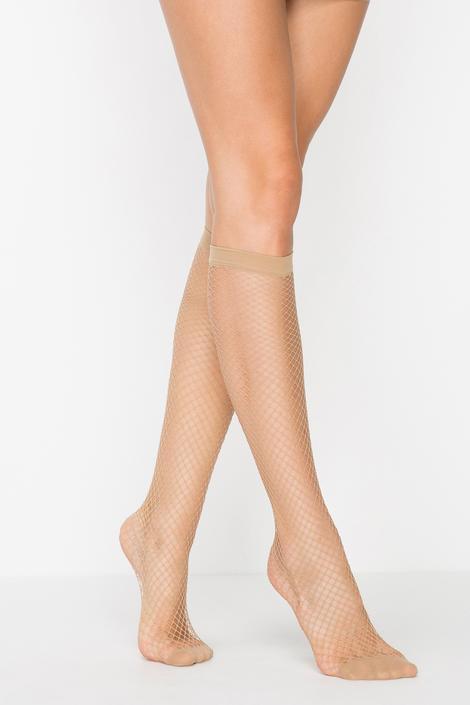 Ciorapi pentru pantaloni clasici din plasă