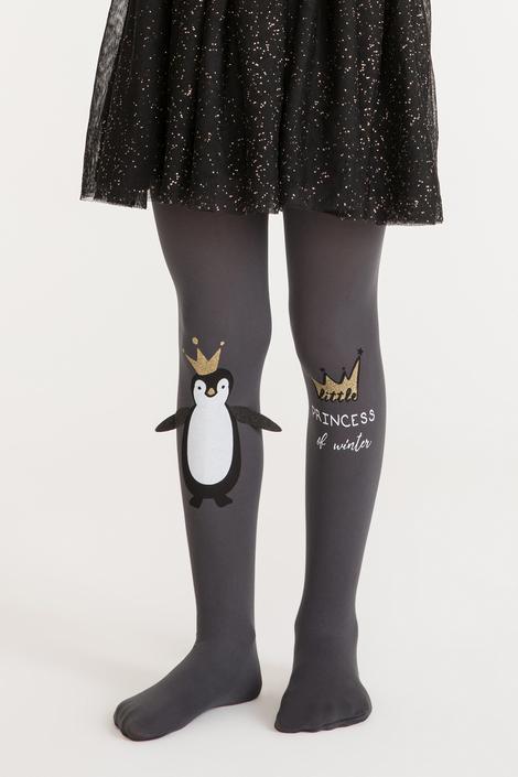 Pretty Queen Penguin Tights