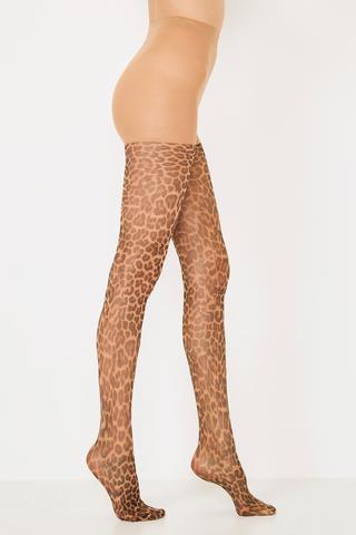 Ciorapi cu chilot Leopard