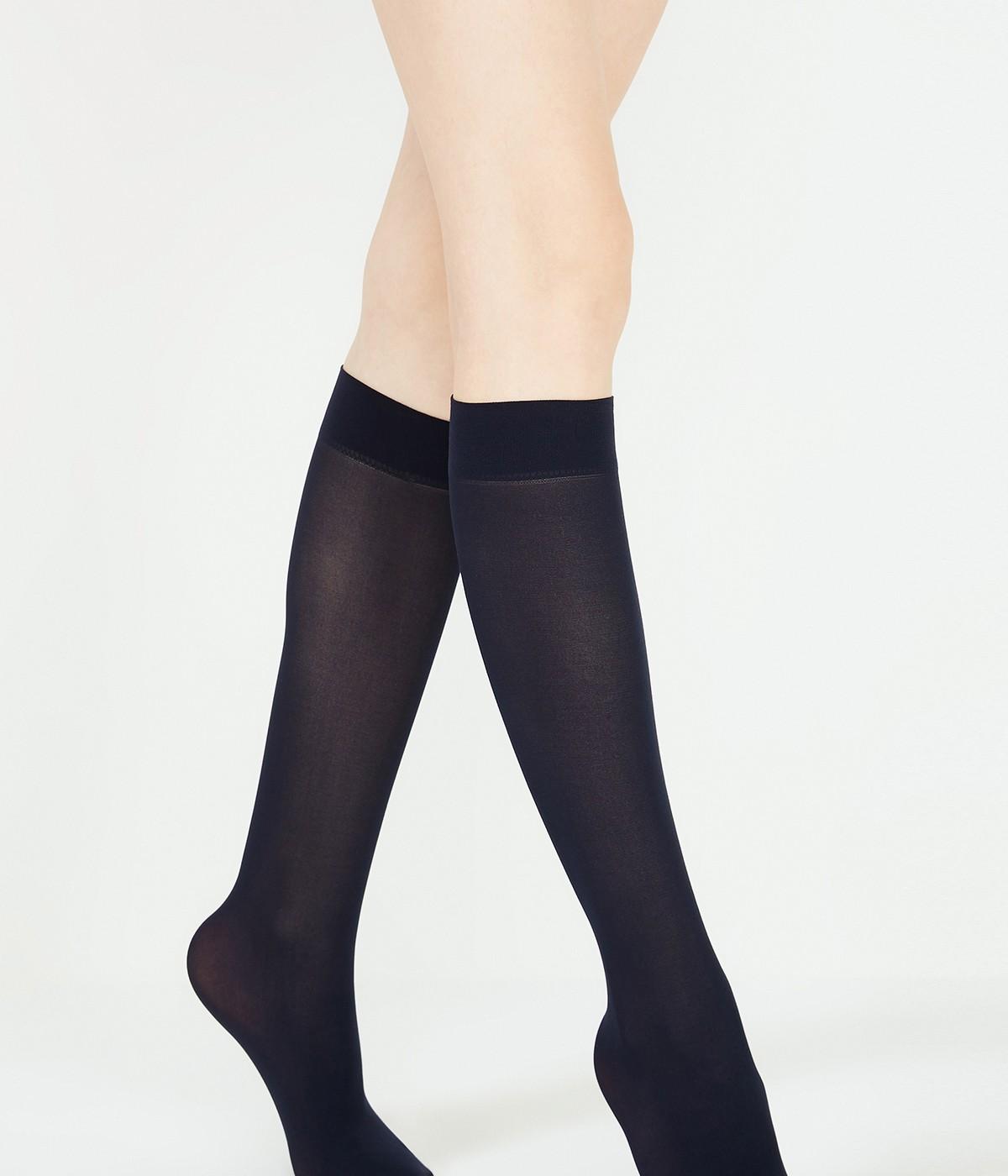 Micro 40 Knee High Socks