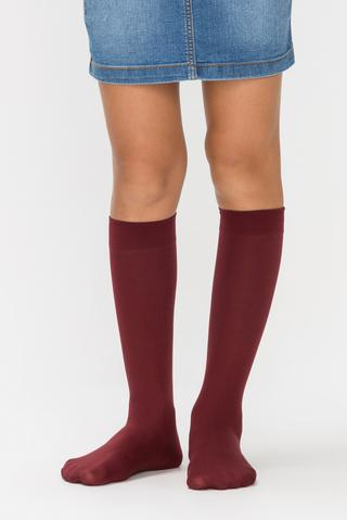 Micro 40 Knee High Socks - For Girls