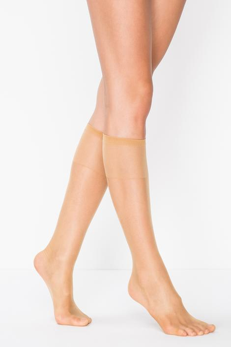 Fit 15 Toeless Knee High Socks - 3 in 1