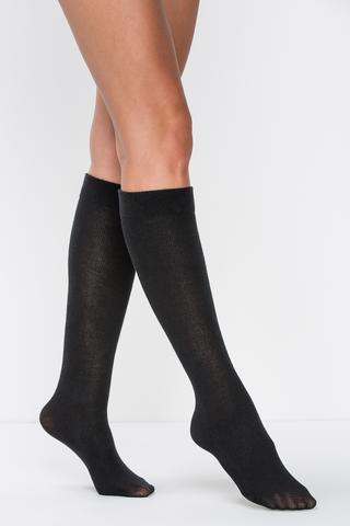 Ciorapi pantalon cu amestec de angora şi lâna