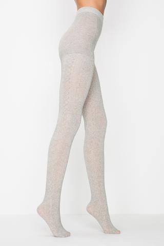 Ciorapi de iarna cu plasa şi chilot Anet