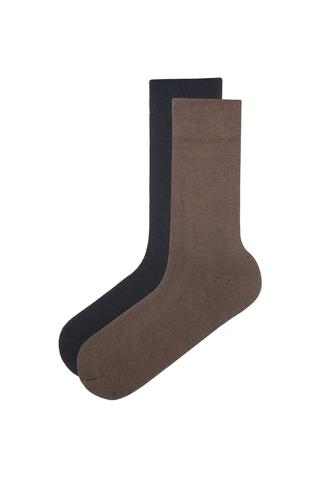 Men'S Bamboo 2 in 1 Socks