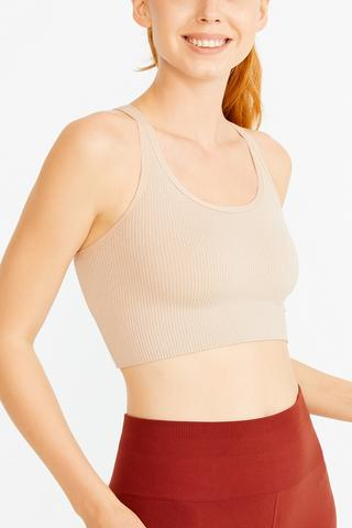 Shiny Seamless Short Top