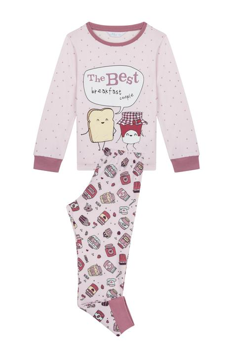 Girls Jam Thermal 2 In 1 pyjama Set