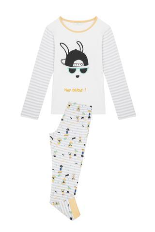 Mens Dude Thermal 2 In 1 pyjama Set