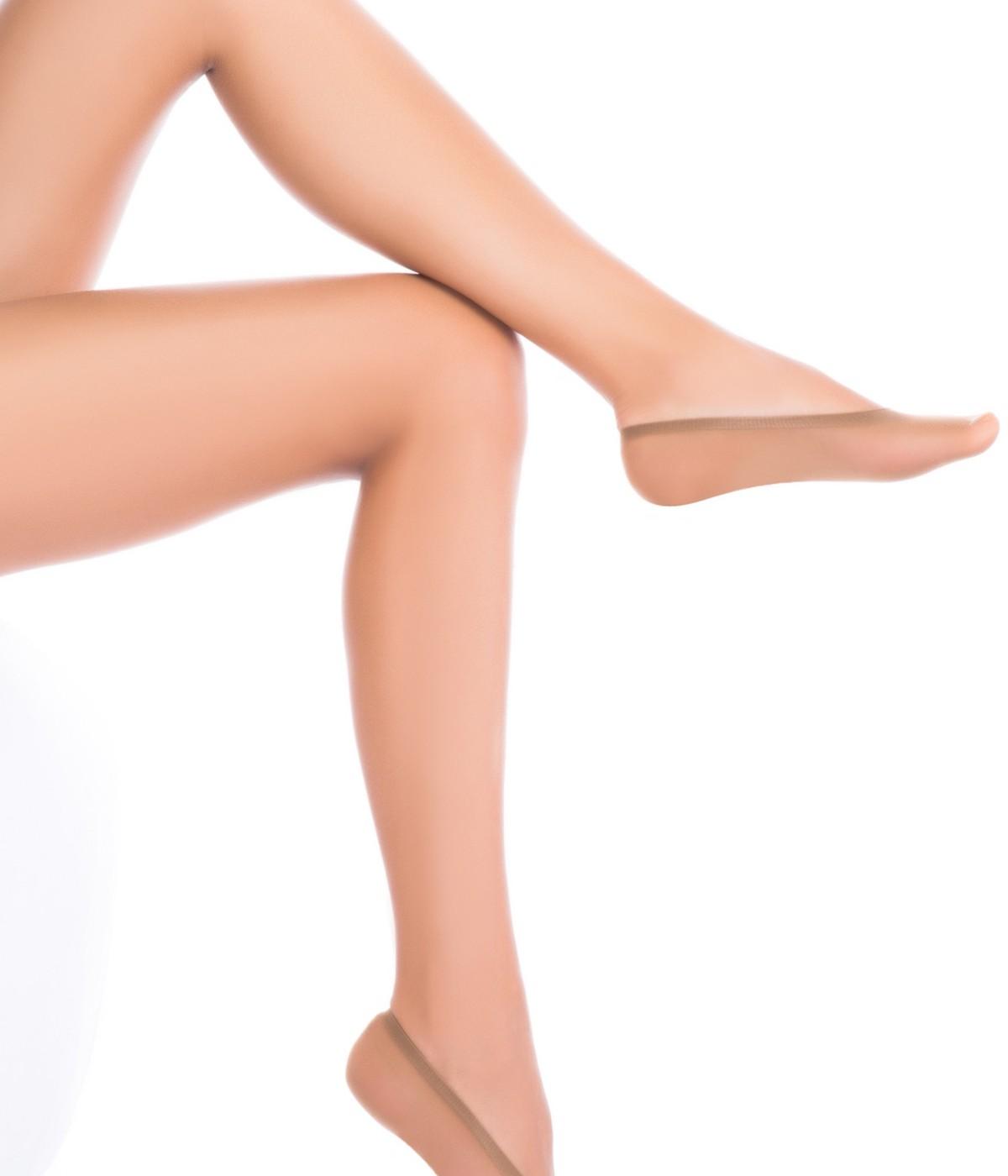 Nylon No Show Socks - 3 in 1