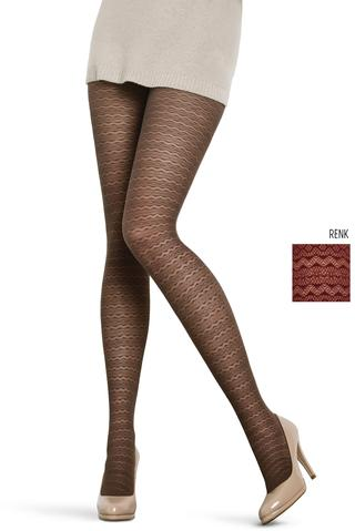 Ciorapi cu chilot Lacy