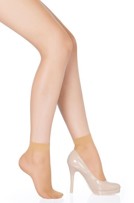 Fit 15 Toeless Socks