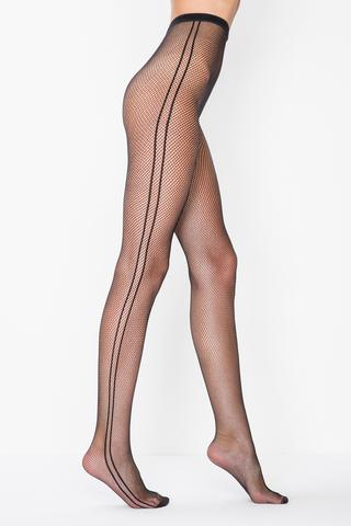 Ciorapi chilot cu plasă Line