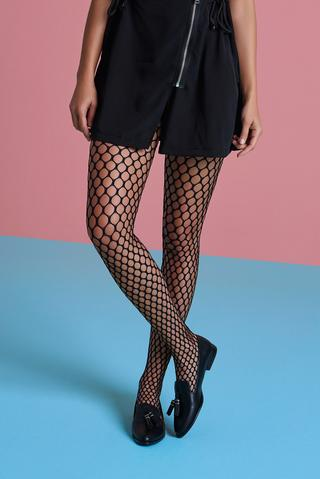 Comb Fiishnet Tights