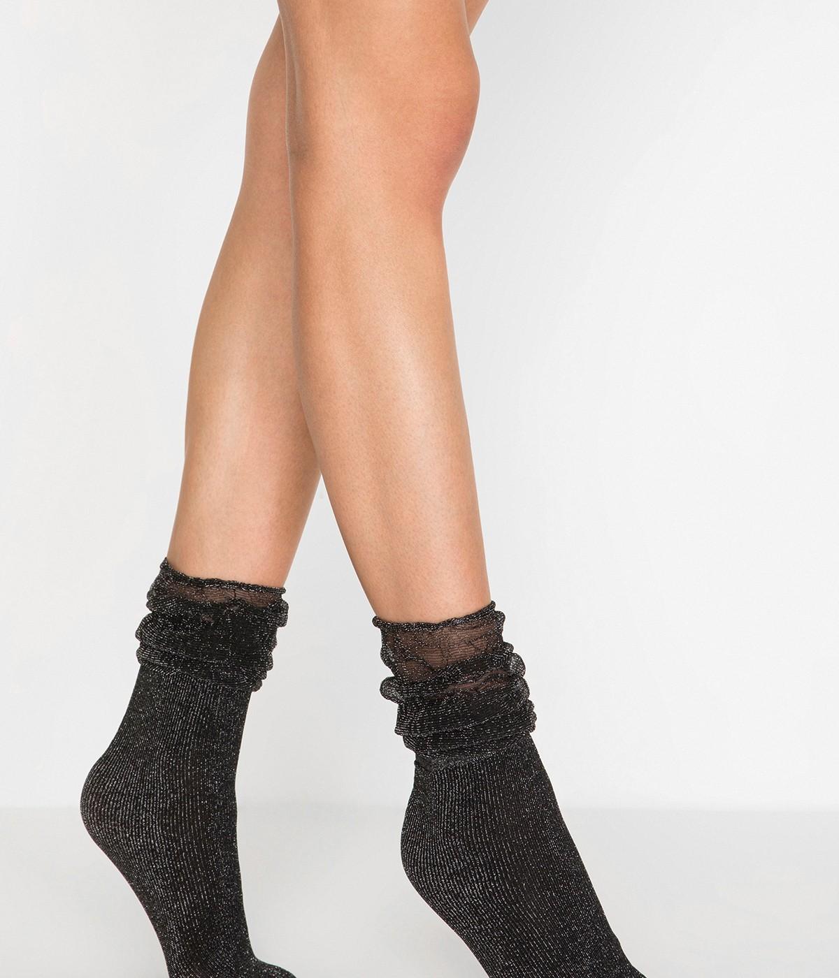 Shiny River Socks