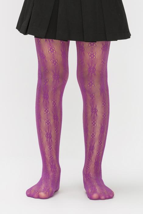 Flower Fishnet Stockings