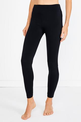 Lace Tape Thermal Tights