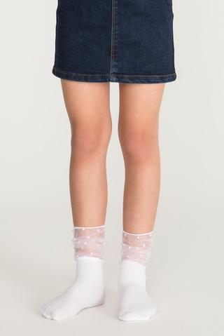 Pretty Dot Sheer Socks