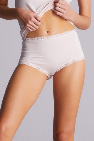 Modal High Rise Slip Panties