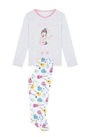 Set Pijama Teen Music 2 Buc.