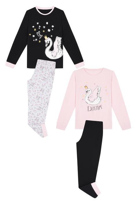 Set Pijama Fetițe Swan 4 Buc.
