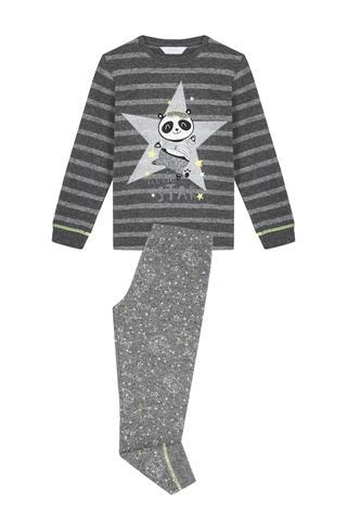 Boy Panda Star 2In1 Pj Set