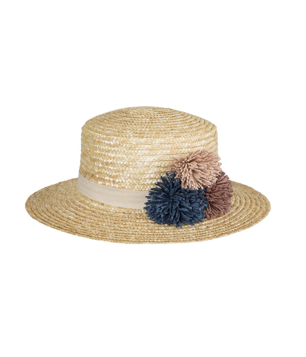 Small Pompom Hat