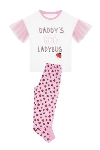 Set Pijama Fetițe Ladybug 2 Buc.