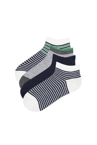 Boy Stripe 4In1 Booties