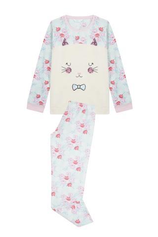 Pijama Teen Fluffy Cat 2 Buc.