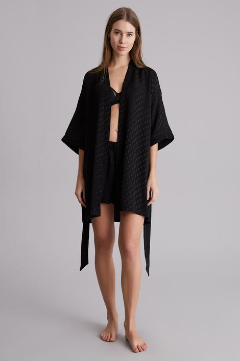 Black Heart Harper Robe
