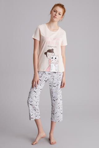 Cat Love Pj Set