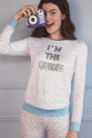 Tricou Termal The Queen Of Leopard Ls