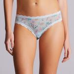 Floret Mesh Brazilian Panty
