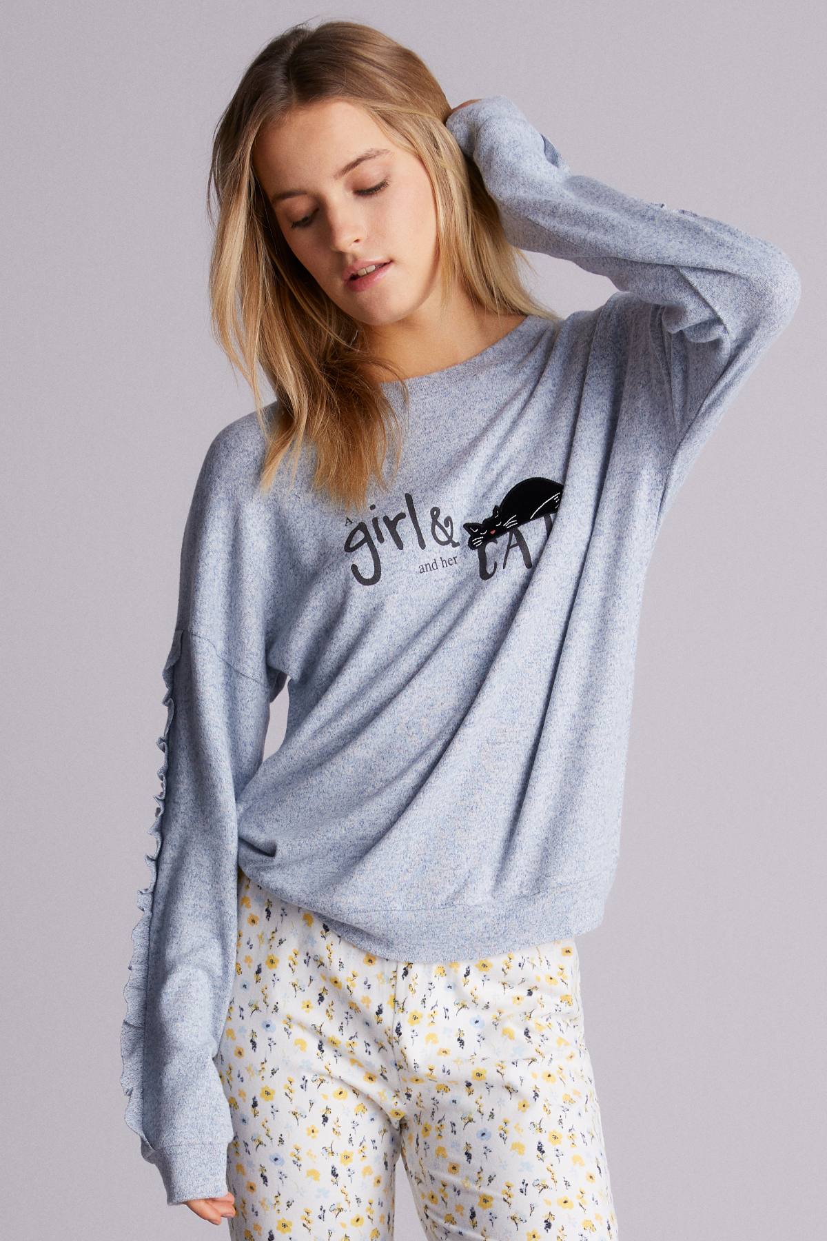 Sweatshirt Her Cat