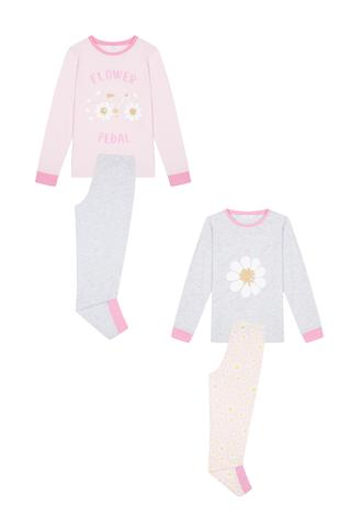 Set Pijama Fetițe Daisy 4 Buc.