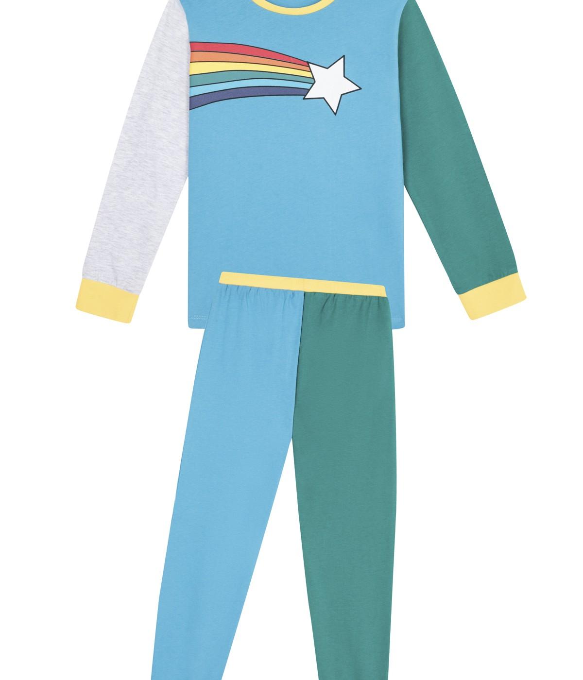 Boys Rainbow PJ Set
