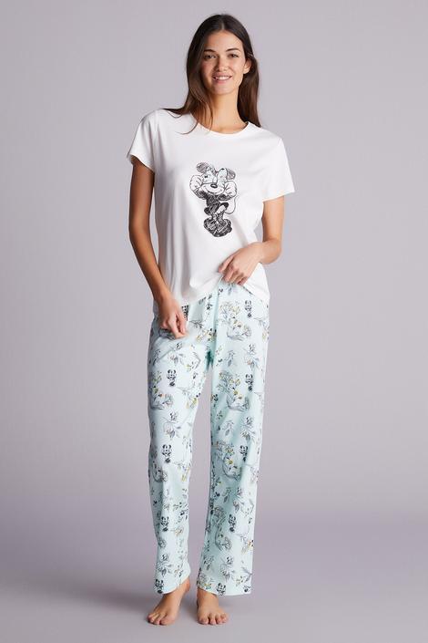 Mınnıe Floral  PJ Set