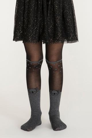 Pretty Dot Koala Tights