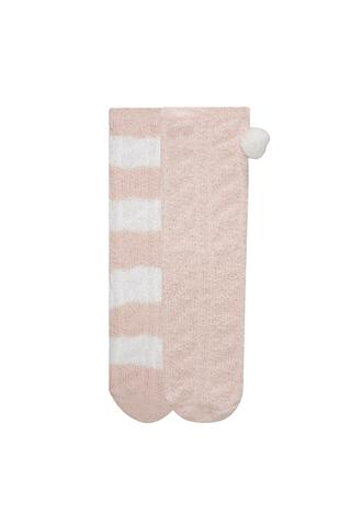 Fluffy 2 in 1 Socks