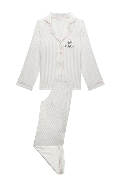 Bridal Satin PJ Set