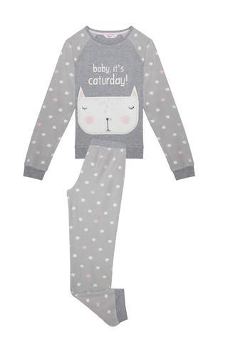 Pijama băieţi Caturday, 2 piese