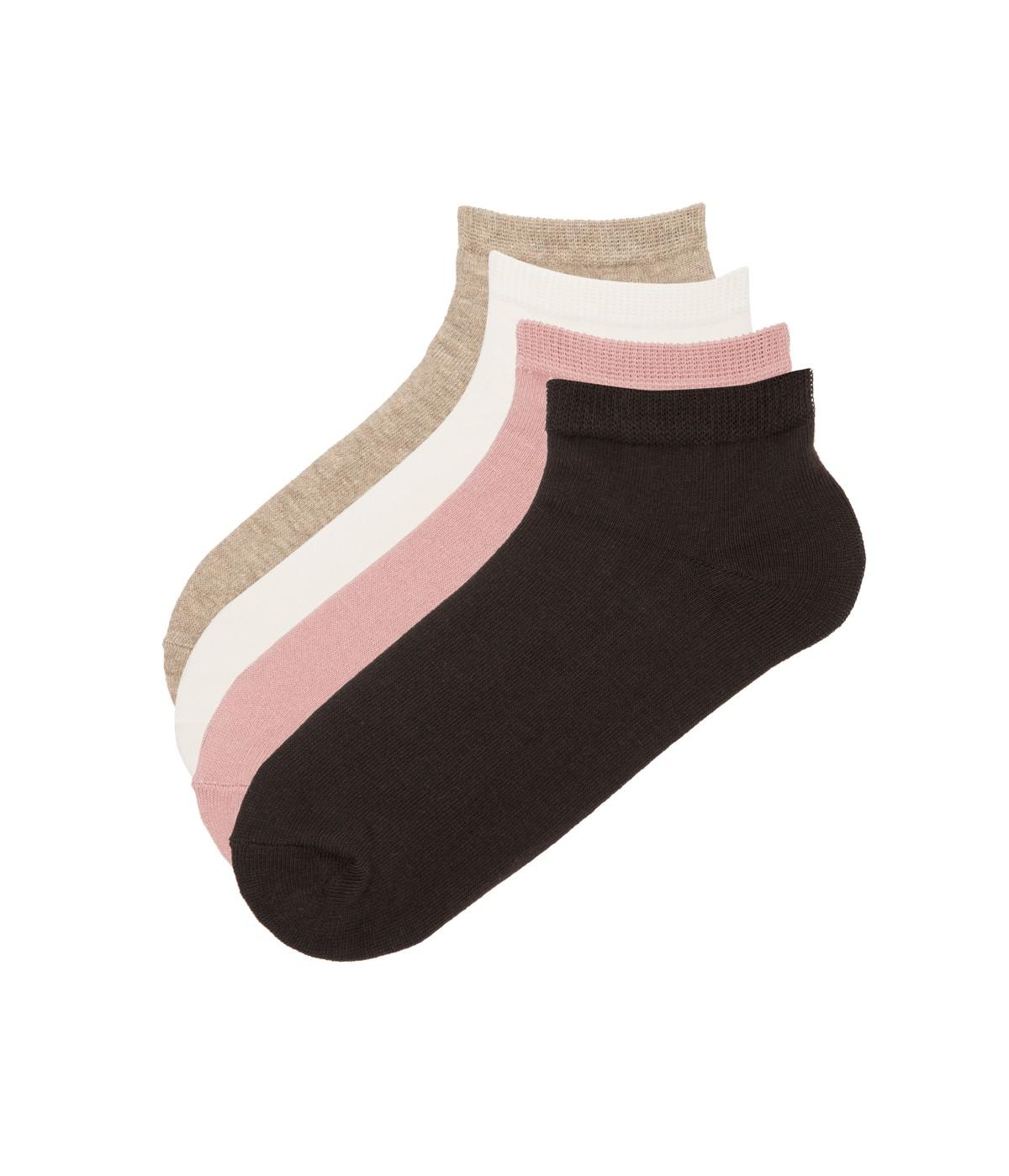 Basic 4 In 1 Liner Socks