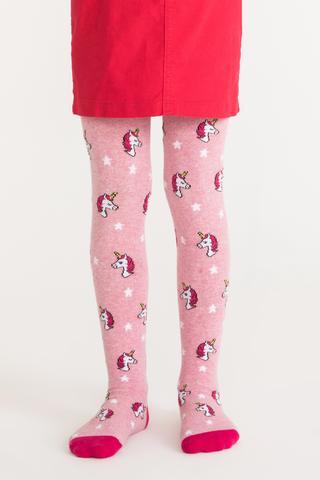 Ciorapi Cu Chilot Pretty Pink Unicorn