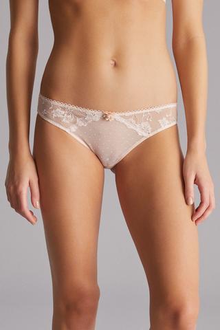 Wow Lace Brazilian Panties