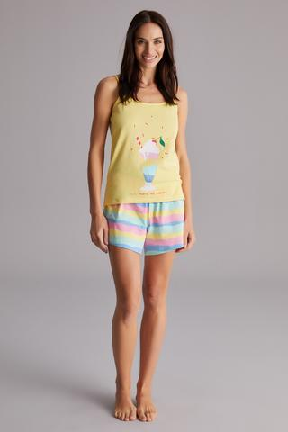 Rainbow Shake Pj Set