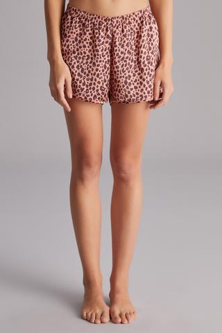 Pantolon Scurt Brick Leopard