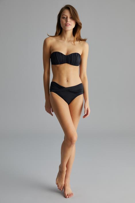 Basic Shirred Bikini Top