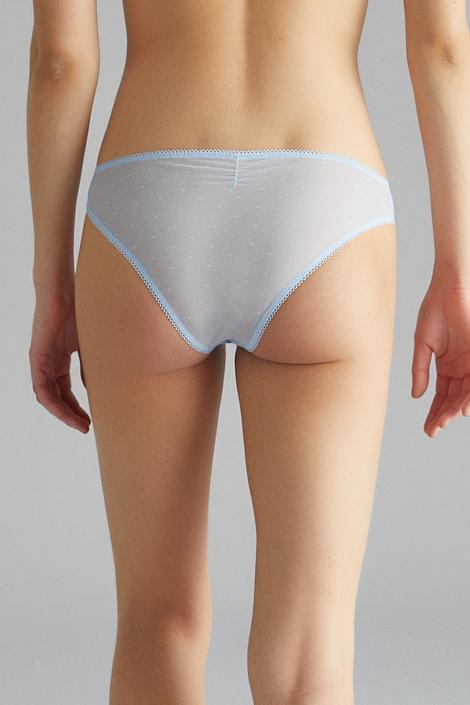Lotus Mesh Slip Panties