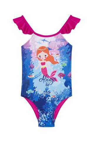 Costum Baie Fetițe Mermaid
